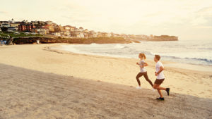 Living healthy through running