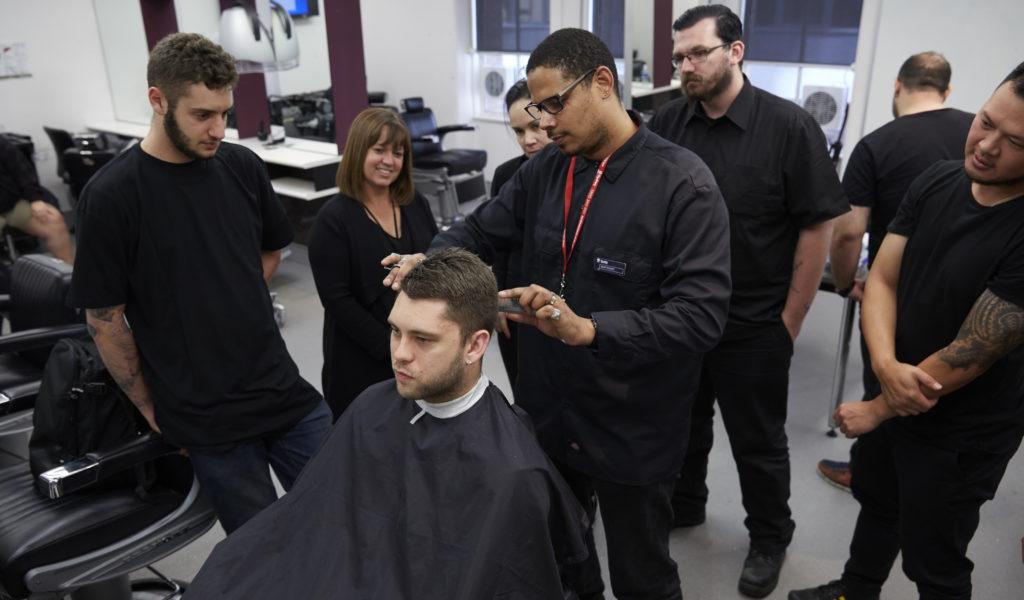 Barbering at TAFE NSW