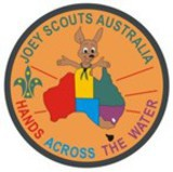 Small hands across the water badge