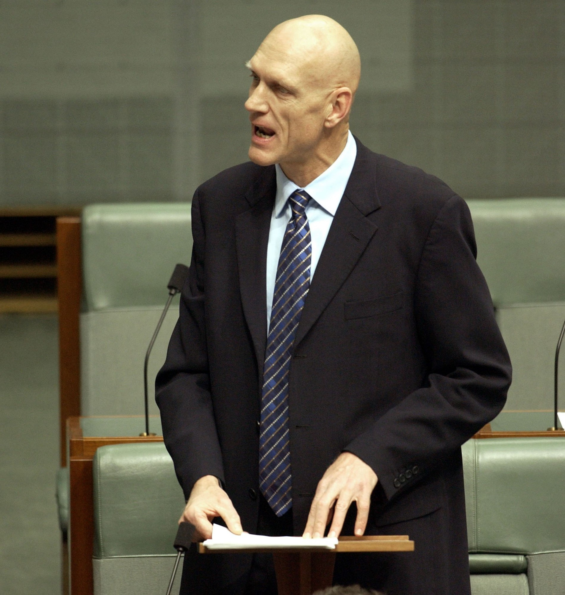 Federal politician and former Scout Peter Garrett