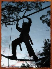 Normal high ropes