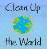 Small clean up the world logo