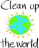 Small clean up the world logo   no background