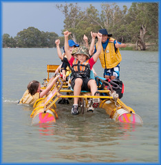 Normal pedal raft