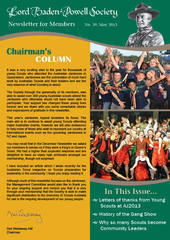 Normal lbps newsletter may 2013 cover