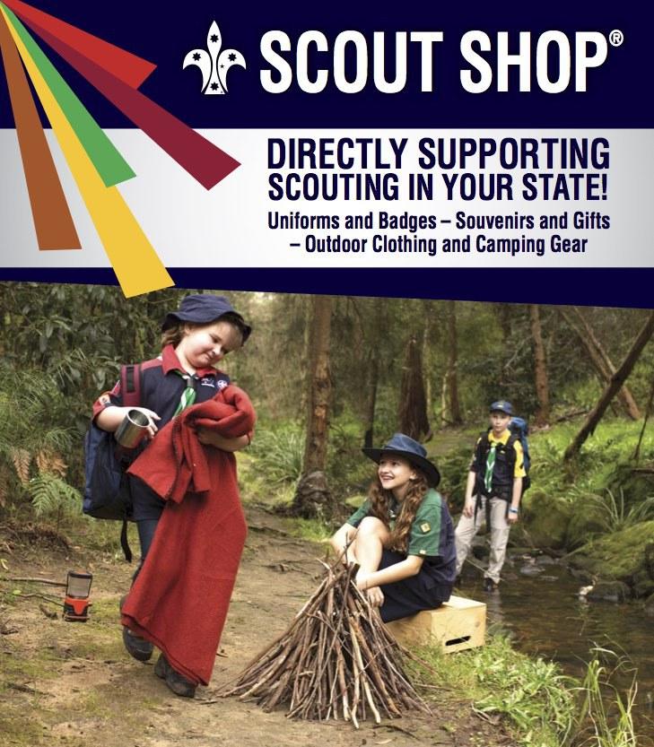 Scoutshop ad