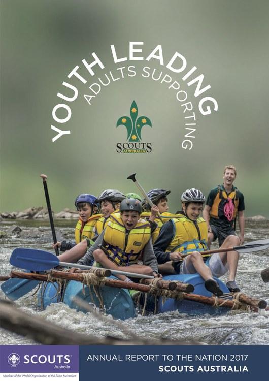 Scouts Australia Annual Report Cover