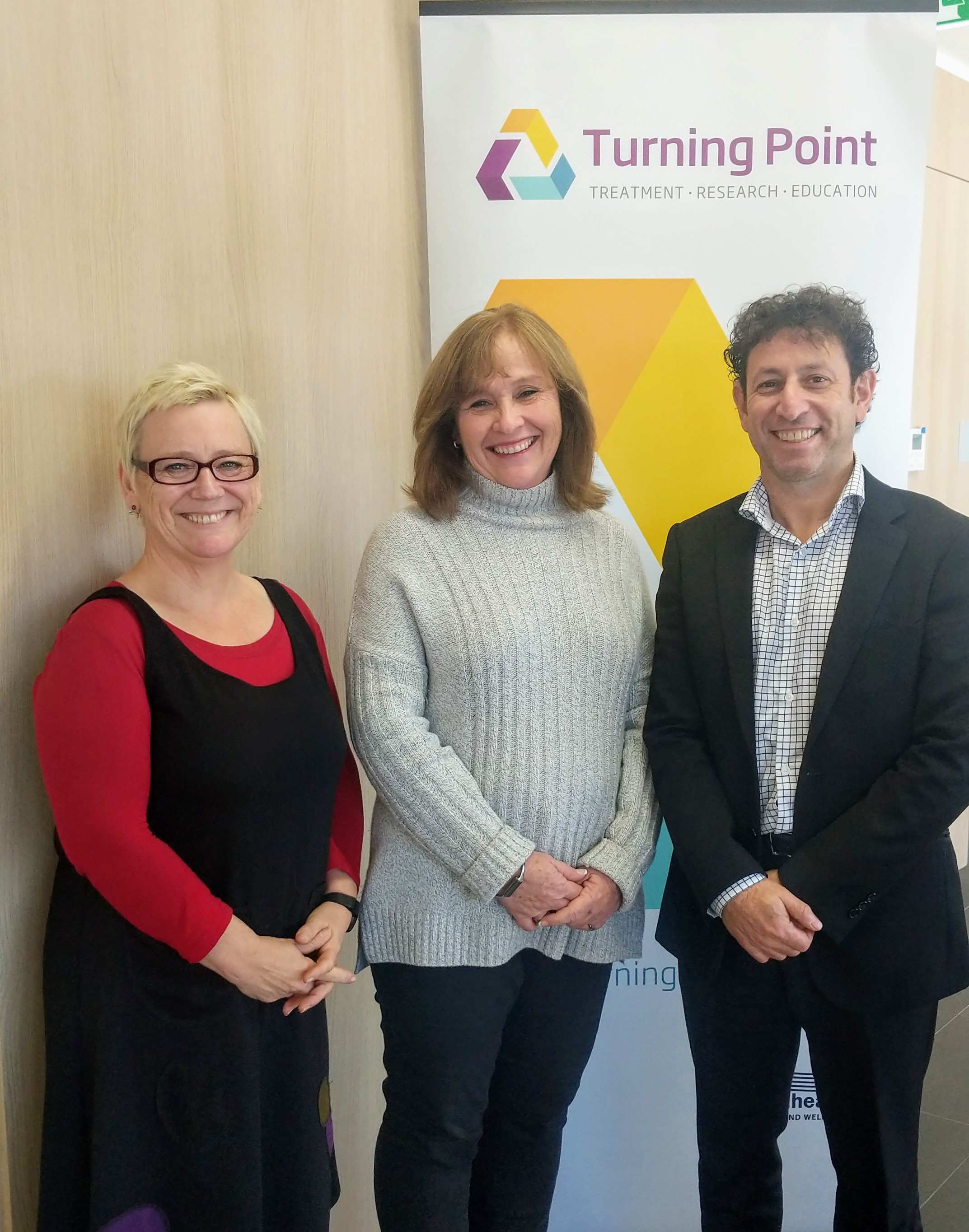 Turning Point team working on AI Suicide Prevention