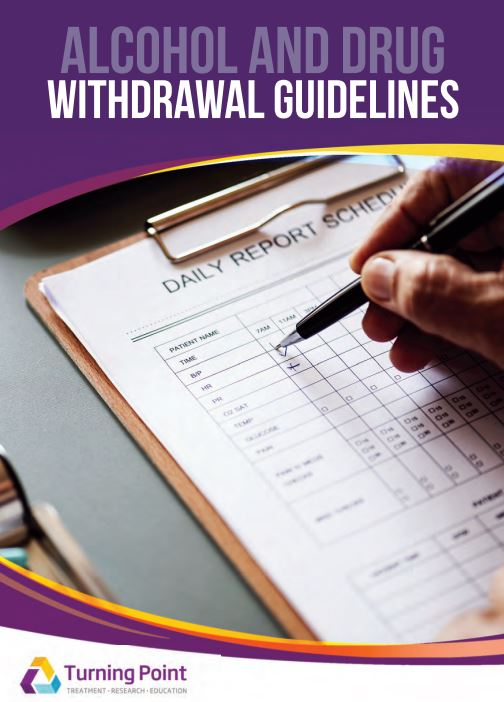 alcohol and drug withdrawal guidelines