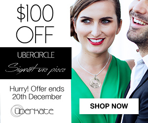 $100 Off Sterling Silver Combination Ubercircles Necklace.