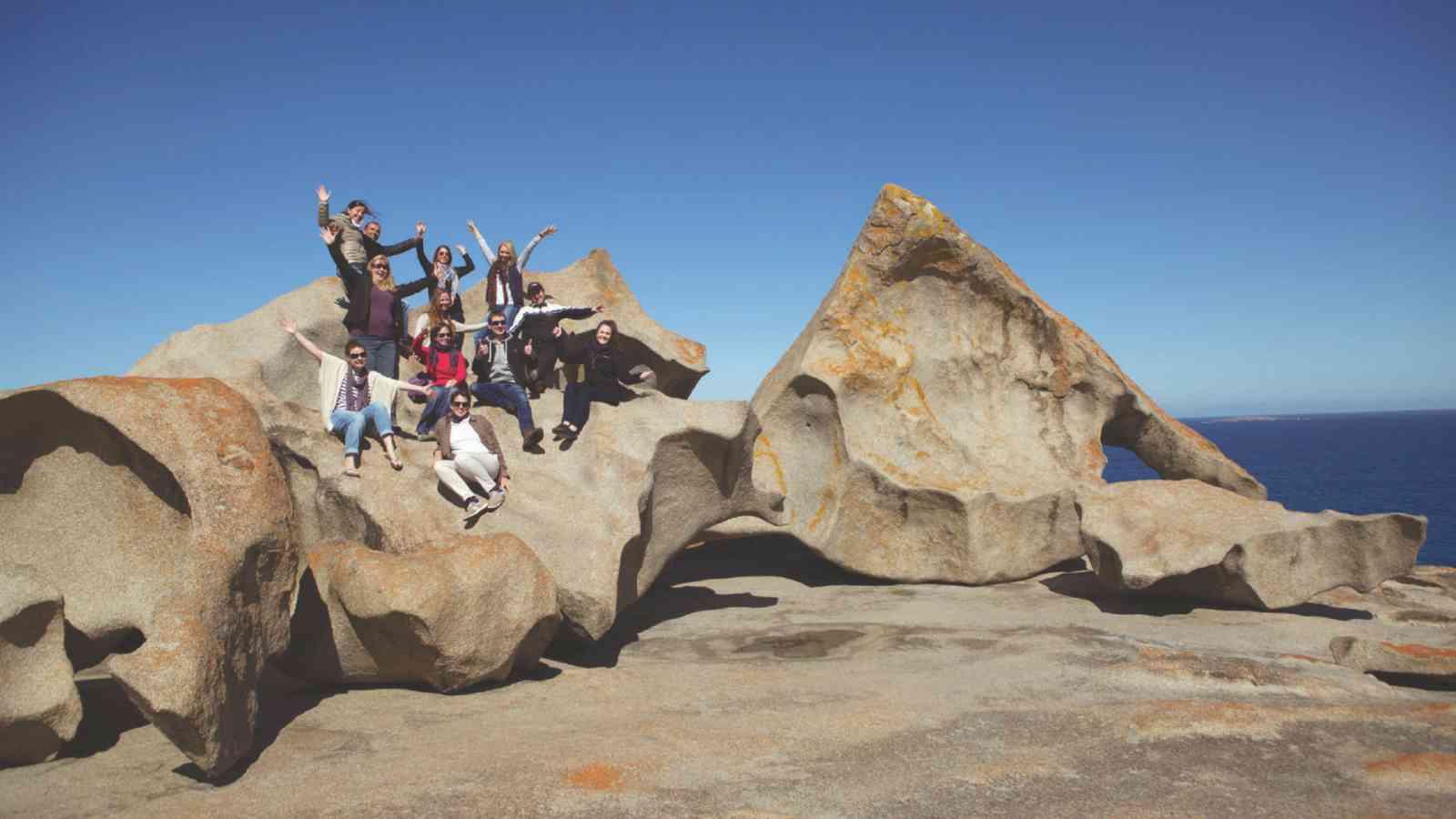 Kangaroo Island Adventure Tour Rocks