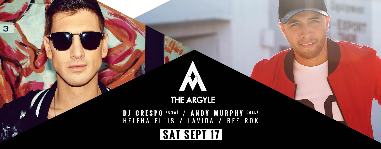 Argyle Saturday feat. Dj Crespo