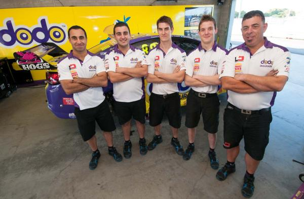LDM Pit Crew – profiled below, left to right