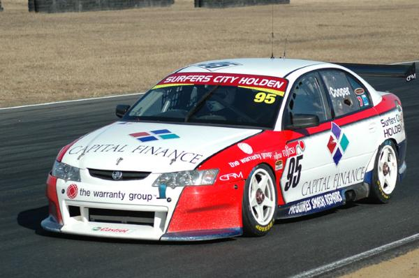 Ashley Cooper, Queensland Raceway 2007