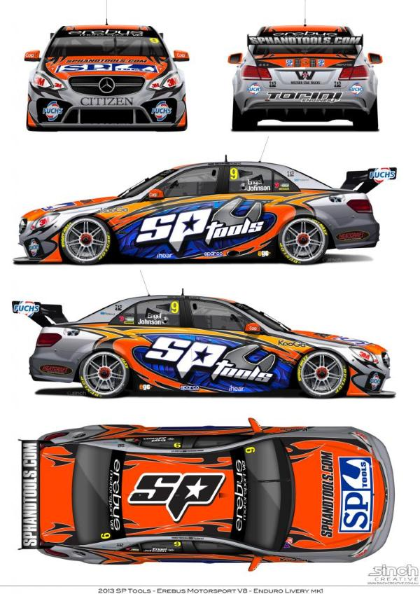 Engel's SP Tools livery
