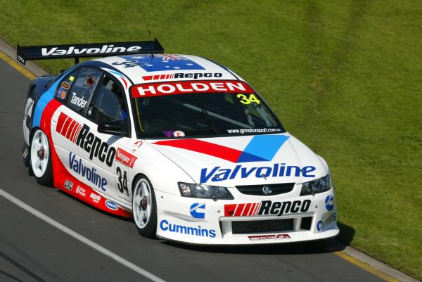 Garth Tander, Australian Formula One Grand Prix 2003