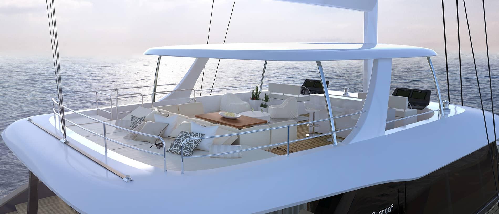sunreef 80 sailing