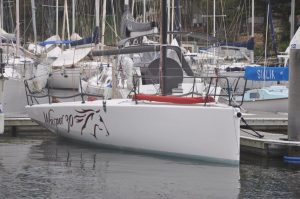 whisper 30 on mooring