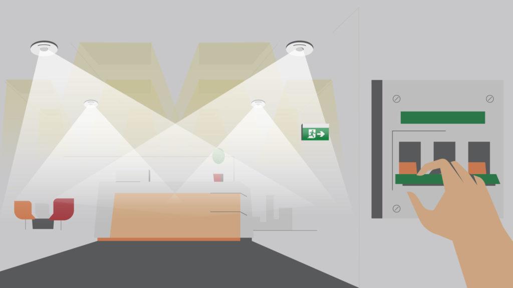 Exit & Emergency light Testing