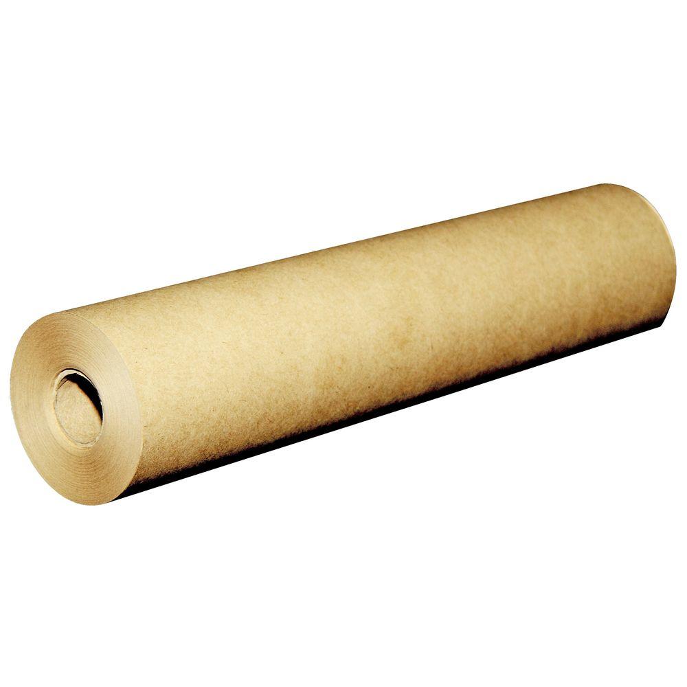 New kleen kopy kraft paper roll 900mm x 235mtr roll brown for Brown craft paper rolls