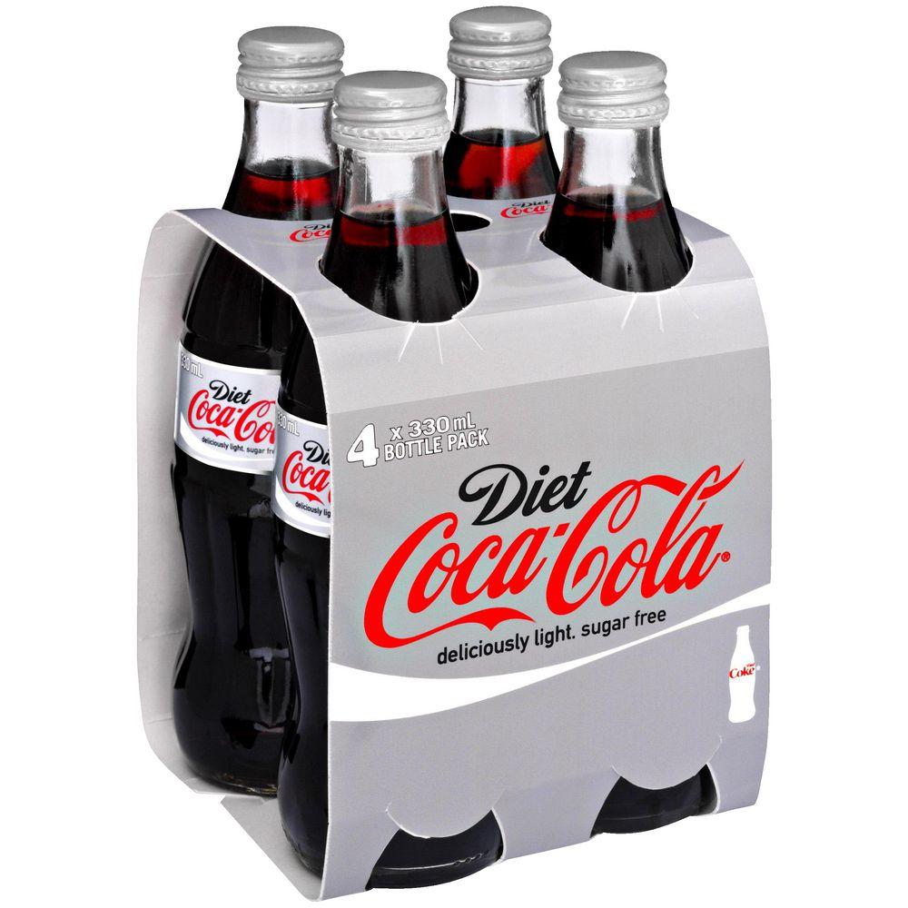 Coke Bottles Bulk Diet Coke Glass Bottles 330ml