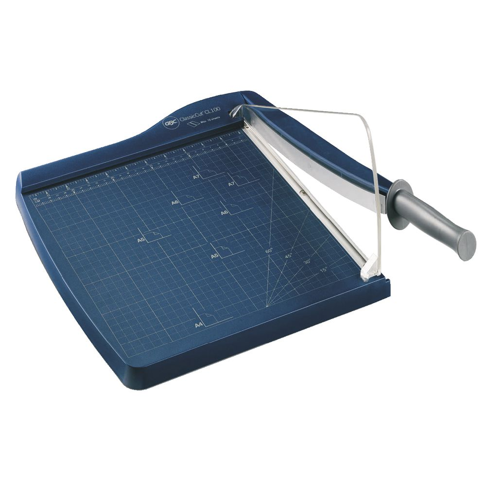 New Gbc A4 Office Guillotine Cl100 Guillotine Paper Cutter Ebay