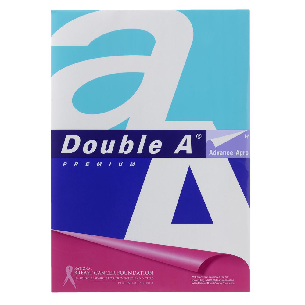 buy double a paper online Double a high quality paper renown for its excellent performance and environmental friendly attributes is suitable for photocopies, printing with inkjet and laser.