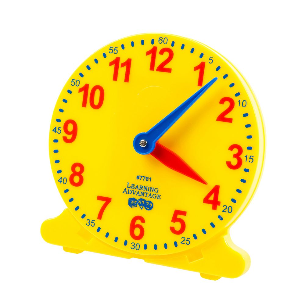 Worksheet Clock To Teach Time learning advantage teach me time clock officeworks clock
