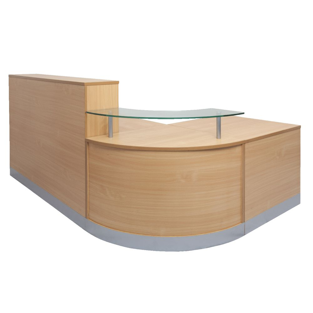 FNFLOERECP Curved Reception Counter