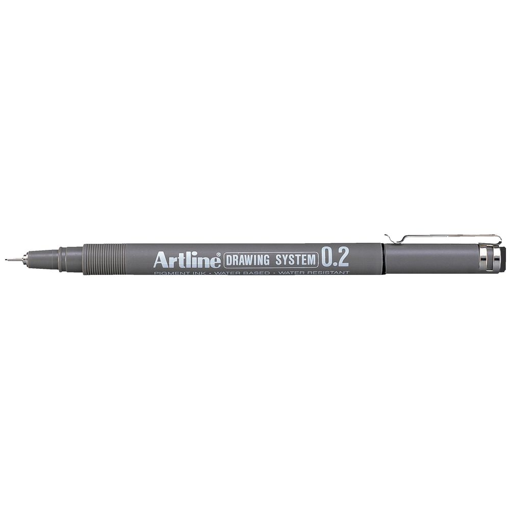 Artline 232 Drawing System Pen 0 2mm Black Ebay