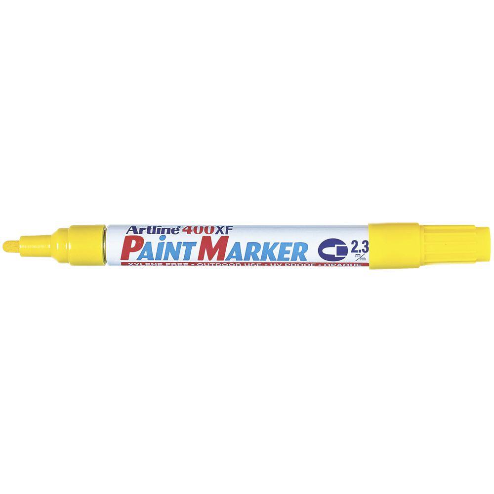 Artline 400 Paint Marker Yellow