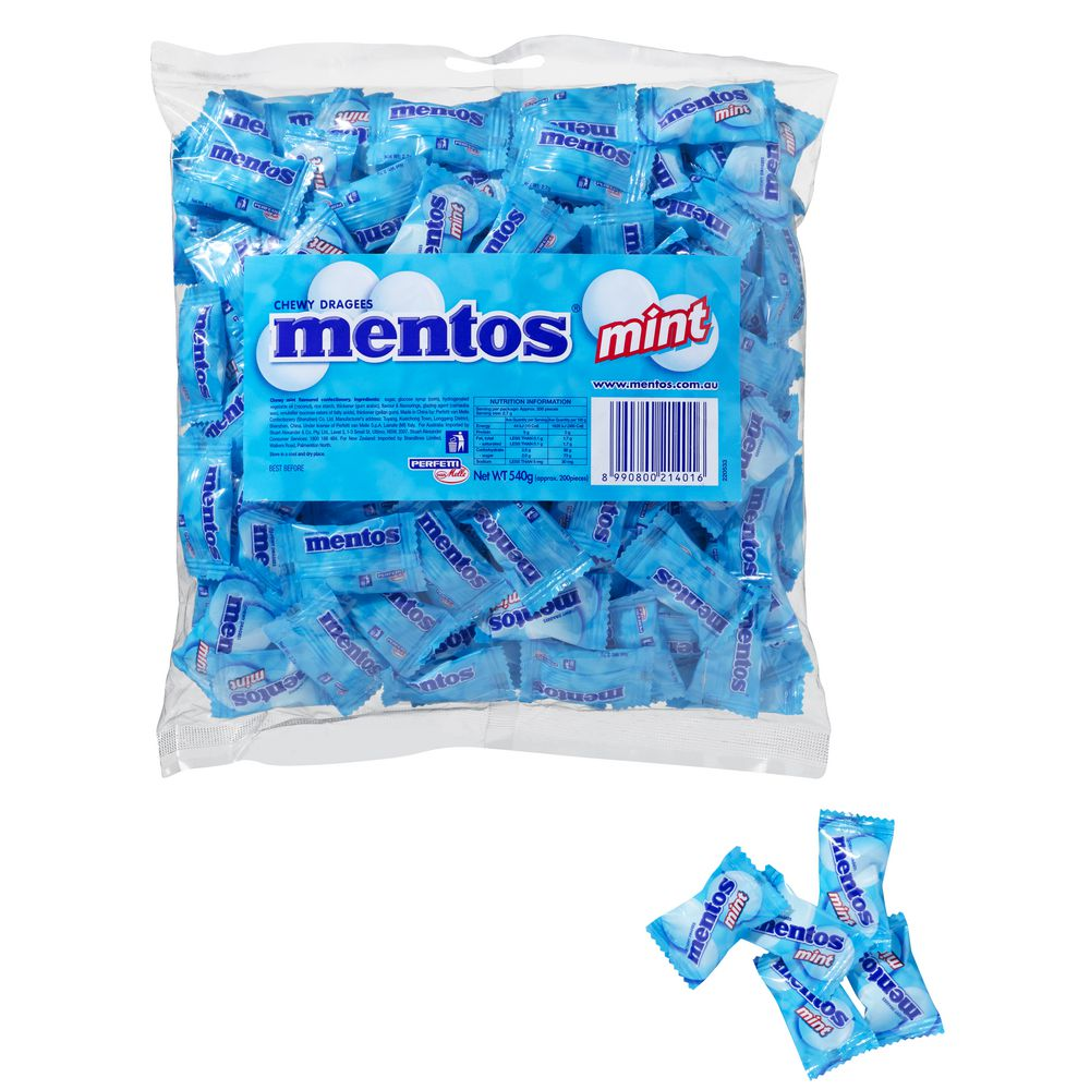 Mentos Mini Mints Mentos Mint Individual Wrapped