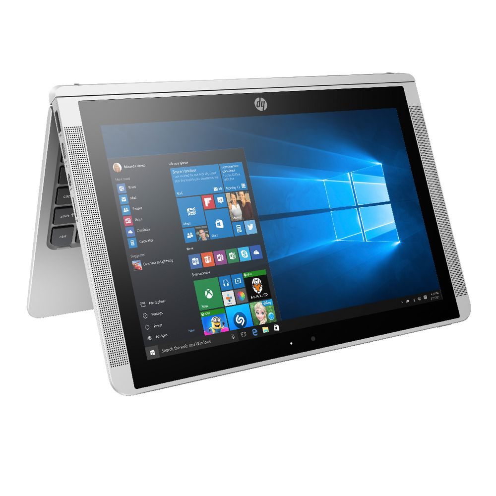 hp pavilion x2 10 1 atom convertible laptop 10 p036tu ebay. Black Bedroom Furniture Sets. Home Design Ideas