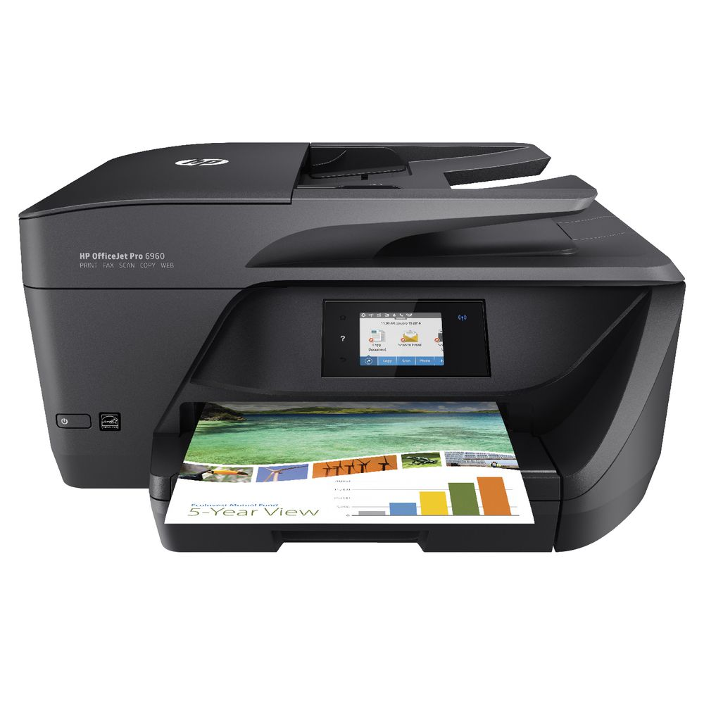 how to turn on hp officejet 6960