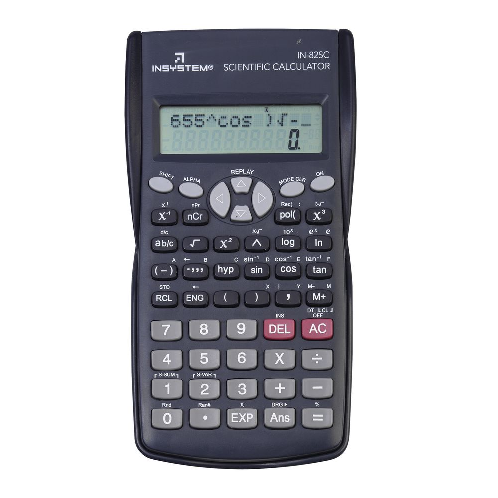 how to find scientific notation on graphing calculator