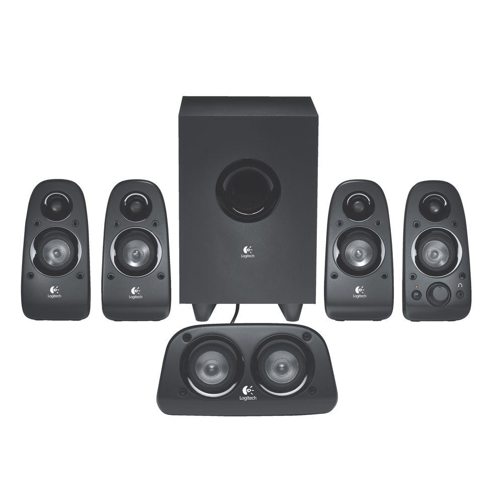 New logitech speakers surround sound speakers 75 watt for Woofer speaker system