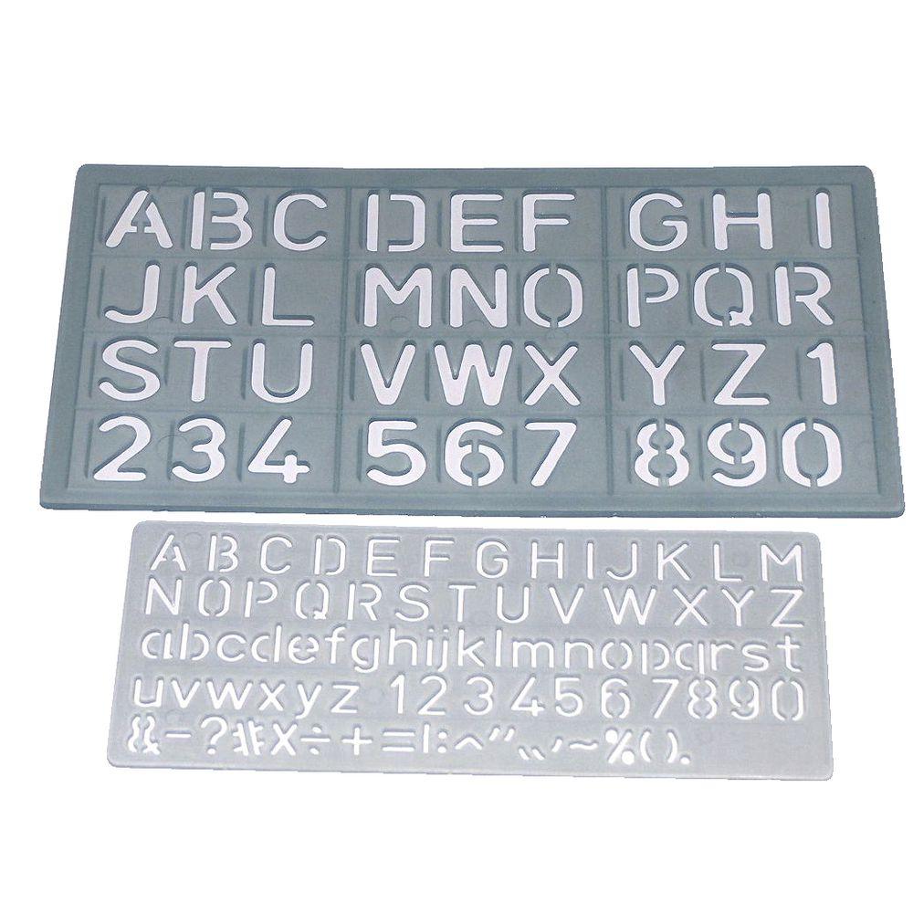Celco C1020 Letter Stencils 2 Sizes Ebay