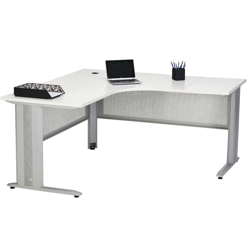 Matrix workstation 1600mm - Officeworks desktop ...