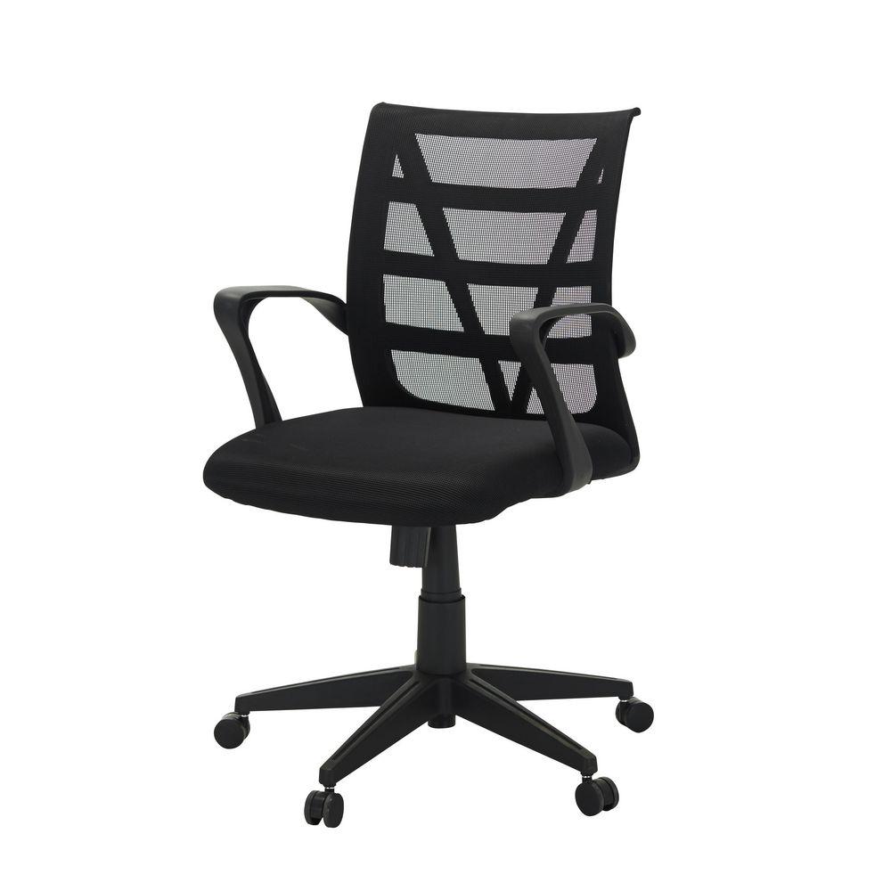 Mondrian Chair Black Officeworks