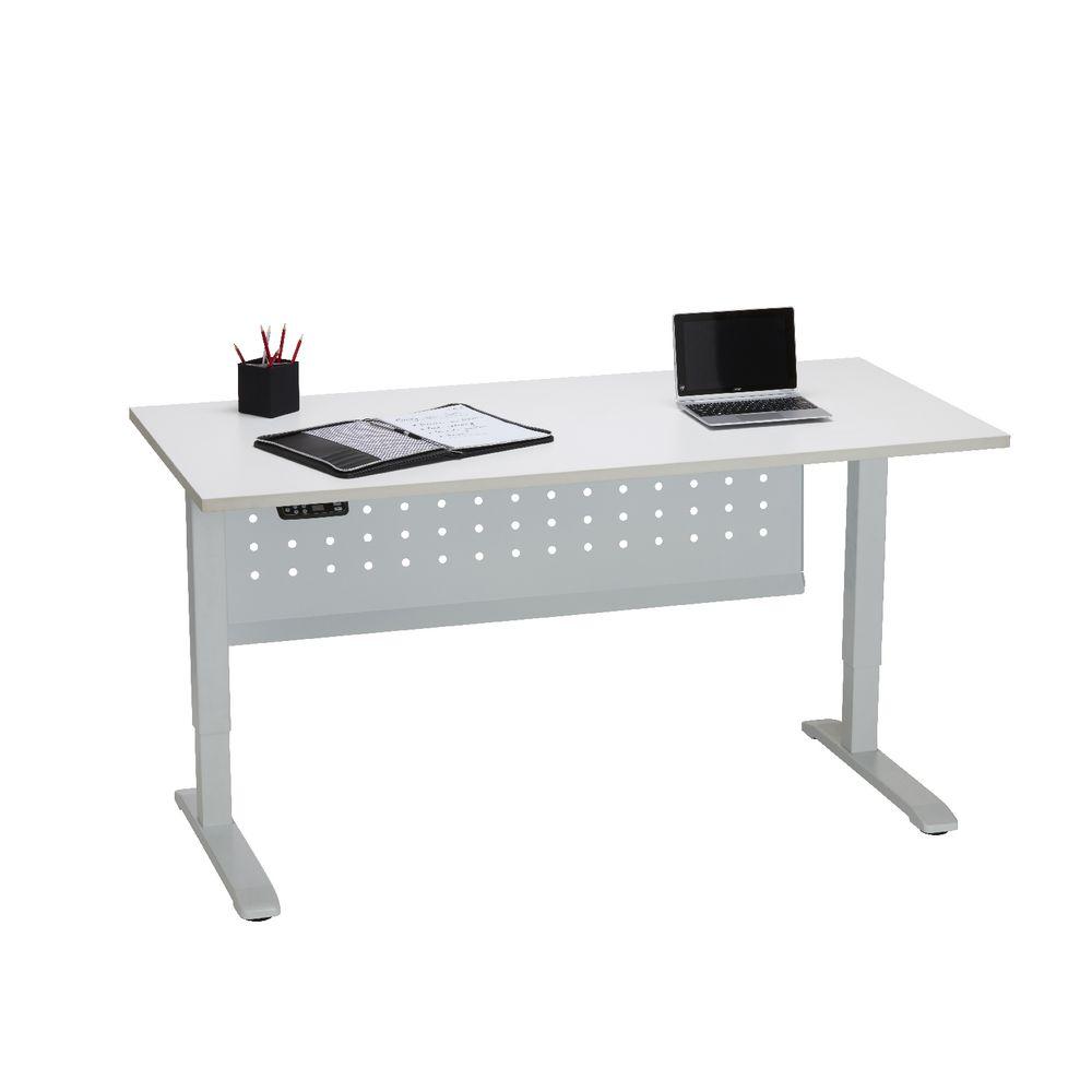 Stilford electric height adjustable desk 1400mm for Motorized adjustable height desk