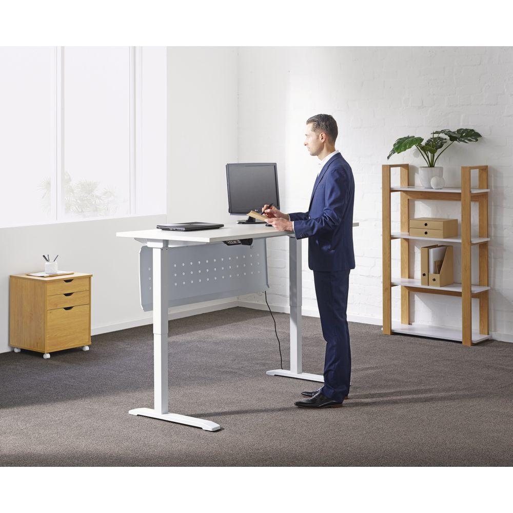 Bulk buy 10 x stilford electric height adjustable desk 1600mm ebay - Officeworks desktop ...