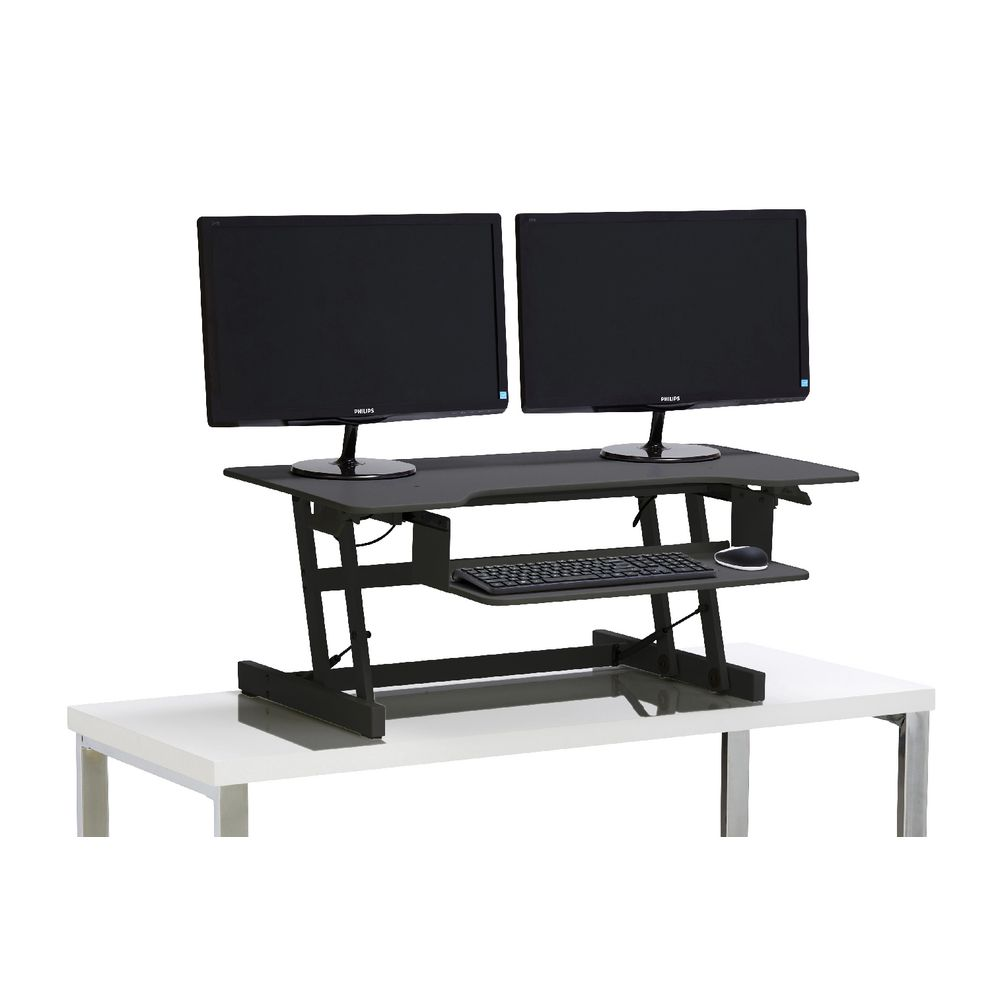 Stand Sit Desks Balt Up Rite Desk Mounted Sit And Stand
