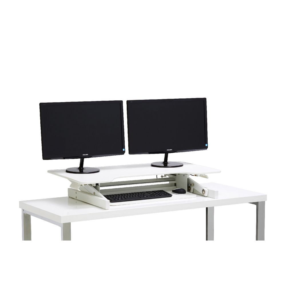 Tresanti Sit To Stand Power Height Adjustable Tech Desk