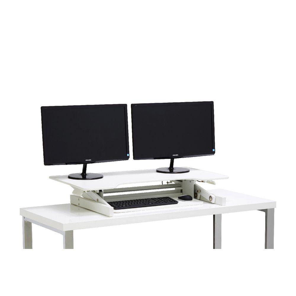 Wynston Sit Stand Desk Standing Desk Height Adjustable