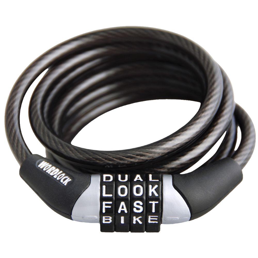 Wordlock 1 2m Word Combination Bike Lock Ebay