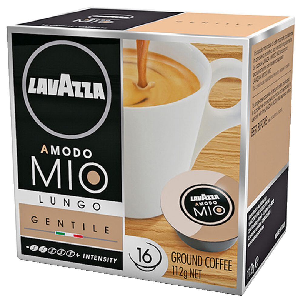 lavazza a modo mio gentile capsules 16 pack ebay. Black Bedroom Furniture Sets. Home Design Ideas