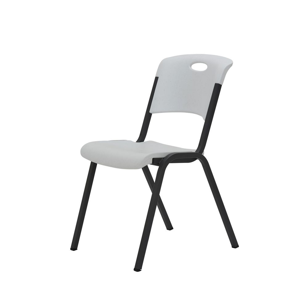 Lifetime Stackable Chair White Officeworks