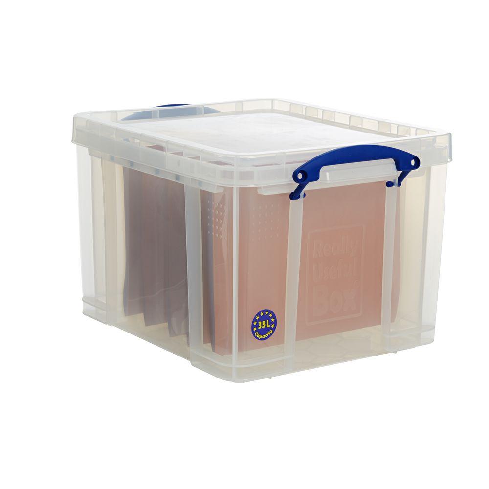Acrylic Boxes Australia : Really useful box lt storage clear