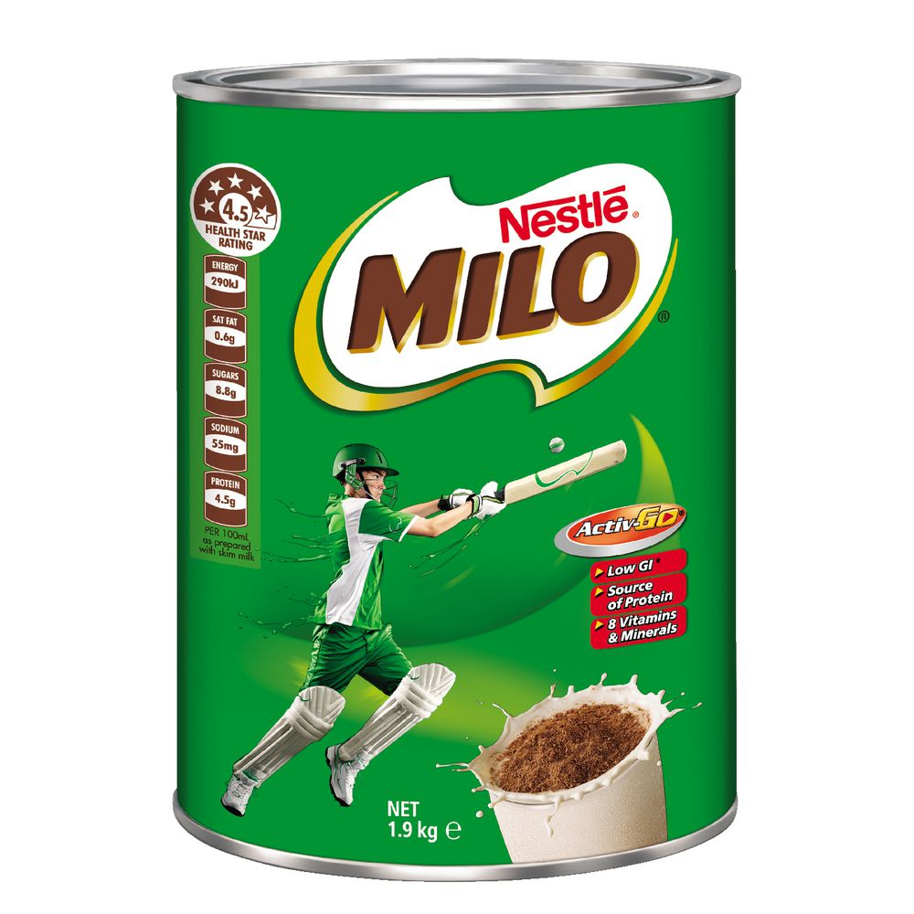 Nestle Milo Tin 1 9 Kg Ebay