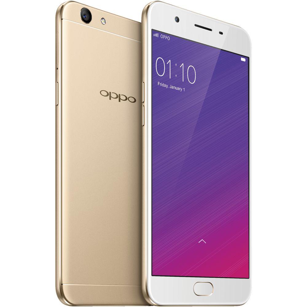 OPPO F1s 32GB Unlocked Smartphone Gold